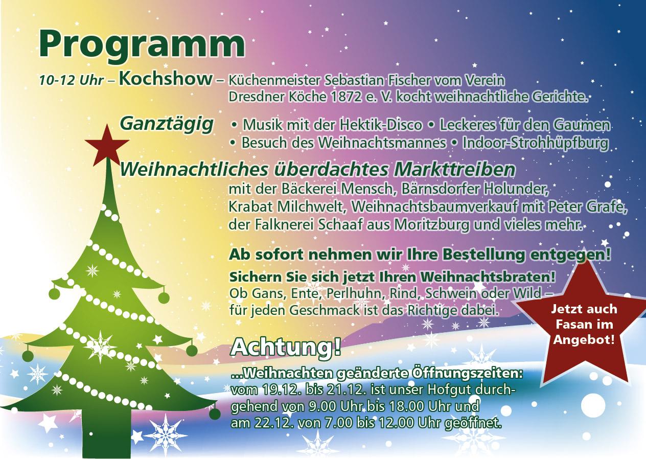 Thiendorfer Bauernweihnacht 2018