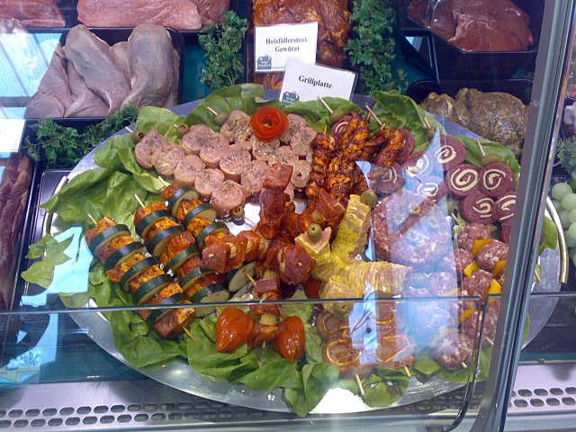 Grillplatte - Fleischspezialitäten