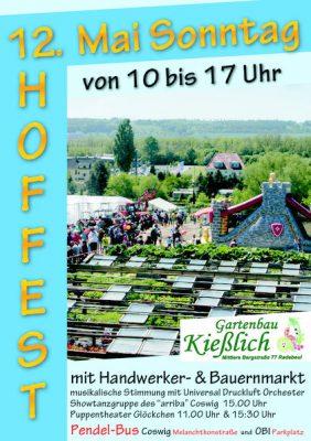 Hoffest Gartenbau Kießlich