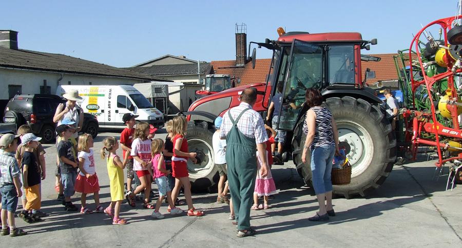 Hofführungen, Landwirtschaft für Kinder
