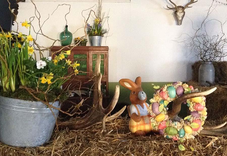 Ostern in der Bauernscheune