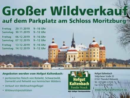 Wildverkauf in Moritzburg